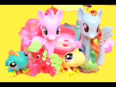 My Little Pony Date PART 2 with Littlest Pet Shop LPS Play-Doh
