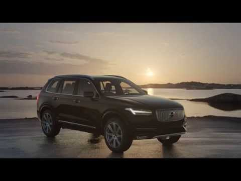 New Volvo XC90 - running footage