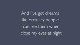Watch Bon Jovi Ordinary People video