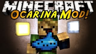 Minecraft Mod Showcase : OCARINA!