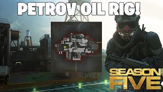 "NEW Modern Warfare ""Petrov Oil Rig"" Map Walkthrough + AN-94 GAMEPLAY! (Season 5 Update)"