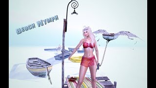 The beach nymph in Second Life