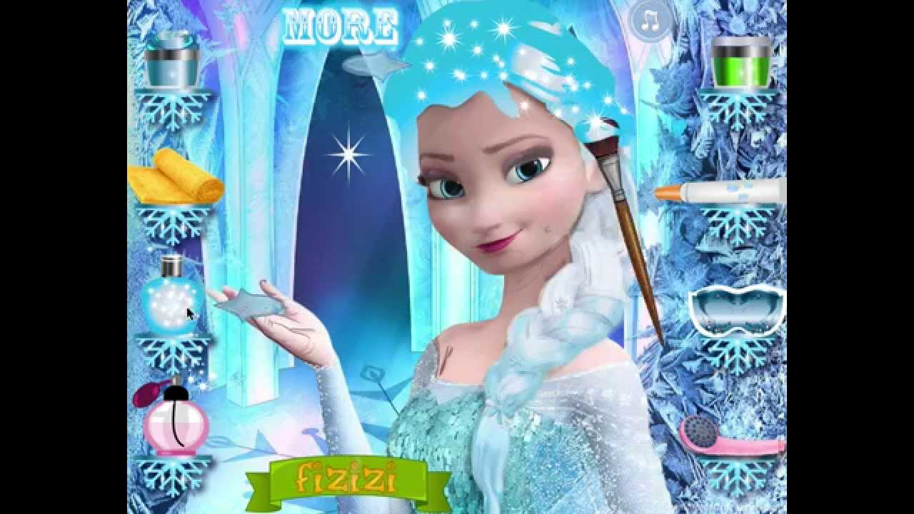 Elsa makeup