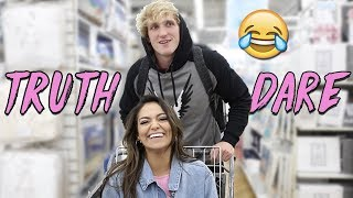 TRUTH or DARE in Public! ft. Logan Paul