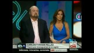 Carlos y Vivian Pellas en CNN - ElPoderDeDar con Ismael Cala - 1