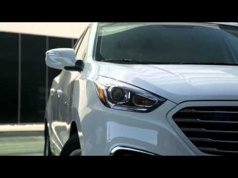 Hyundai Tucson fuel cell - US debut