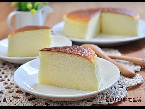 輕乳酪蛋糕。soft cheese cake
