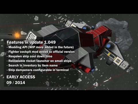 Space Engineers - Modding API, Fighter cockpit