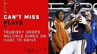 Trubisky Drops Multiple Dimes & Finds Robinson on Huge TD Drive