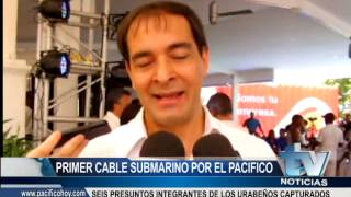 PRIMER CABLE SUBMARINO POR EL PACIFICO