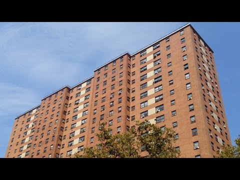 General Grant Houses - Manhattanville, West Harlem NYC -  La Salle St / Amsterdam Ave
