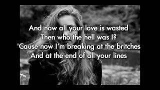 download lagu Birdy - Skinny Love Instrumental/karaoke  Lyrics: Original Key gratis