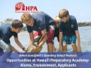 Hawaii Preparatory Academy: Alums, Environment, Applicants