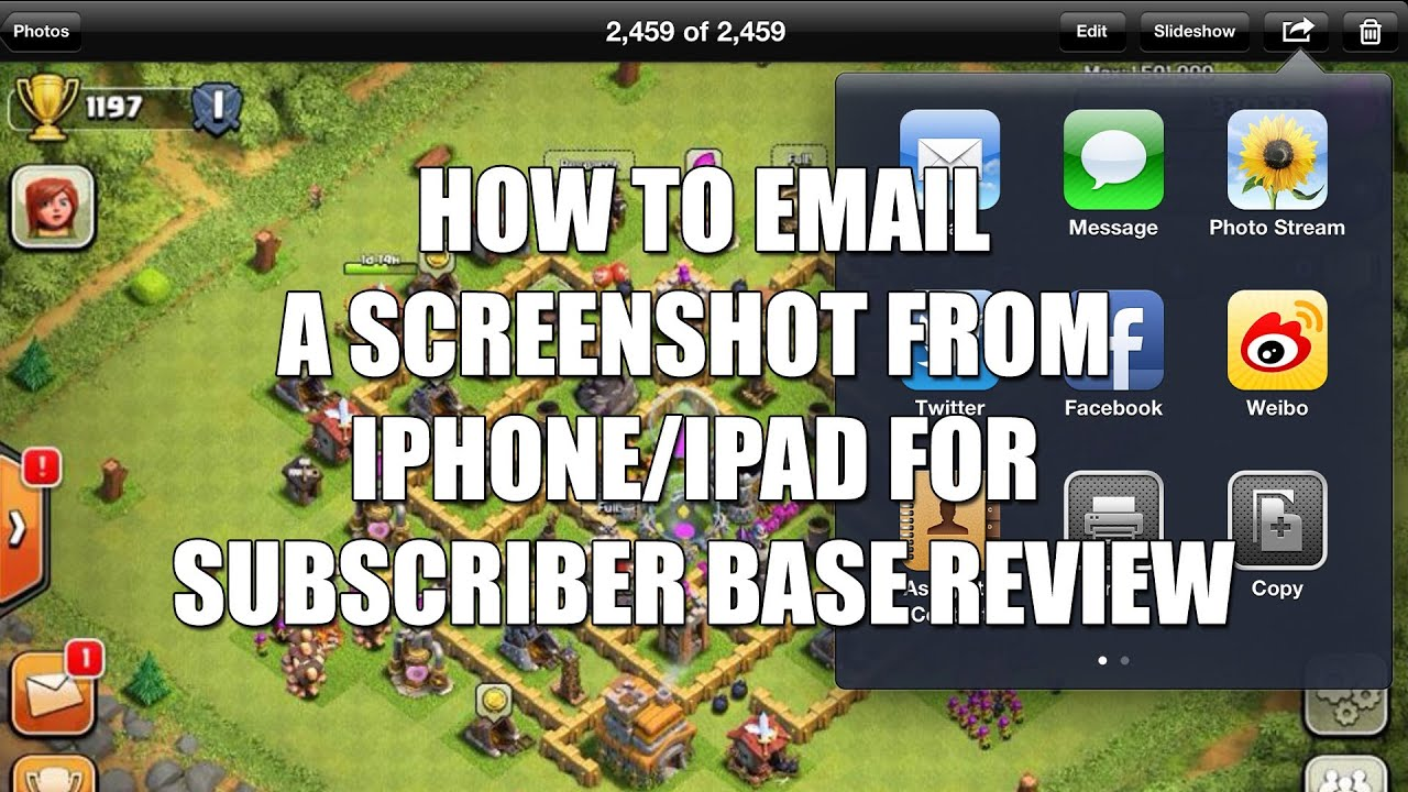 how to take a screenshot on ipad youtube