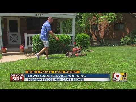 Lawn care service warning