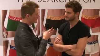 Jamie Dornan - Calvin Klein interview with Bespoke Banter 2009