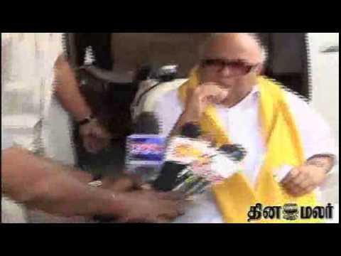 DMK chief M Karunanidhi slams Tamil Nadu CM O Panneerselvam over inter-state water disputes