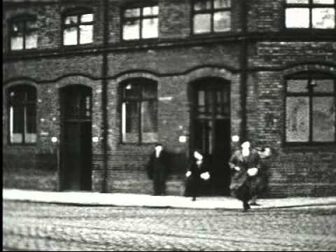 Belfast Harbour: Leaving Work 2- 1954