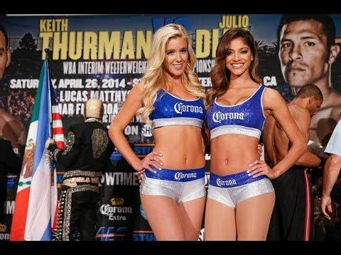 Corona Girls  Get Ready for Thurman vs Diaz  SHOWTIME Boxing