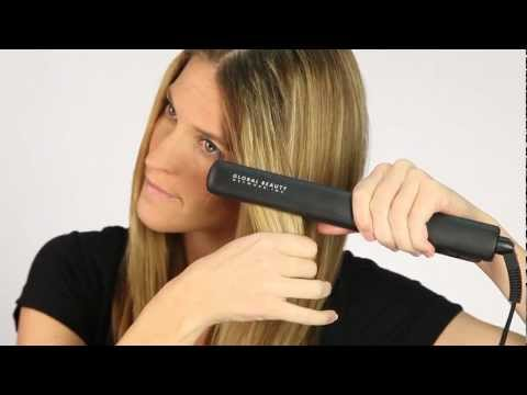 How To - Straighten with CHI Hairstyling Iron