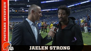 Jaelen Strong Grabs 4th Career TD & Glad to Be Back from ACL Injury | Cleveland Browns