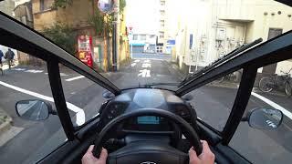 TOYOTA i-ROAD POV Tokyo Drive