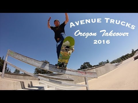 Avenue Trucks Oregon Takeover 2016