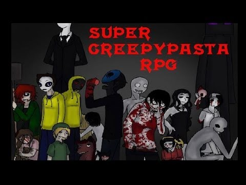 Super Creepypasta RPG chapter 1 - slenderman devuélveme a mi Pikachu!