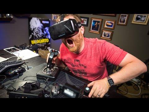 Testing the Oculus Rift Development Kit 2: Game Demos