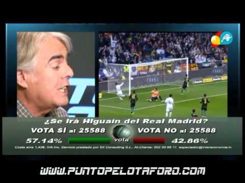 Siro sobre Higuaín: Si un jugador se raja no merece seguir en el Madrid
