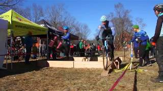 Hand-ups and cracked frames: Ice Weasels Cometh 2018