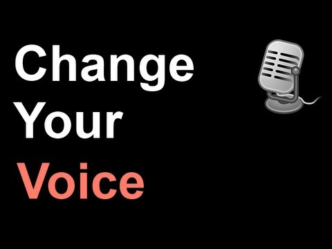 xp500 how to change your voice
