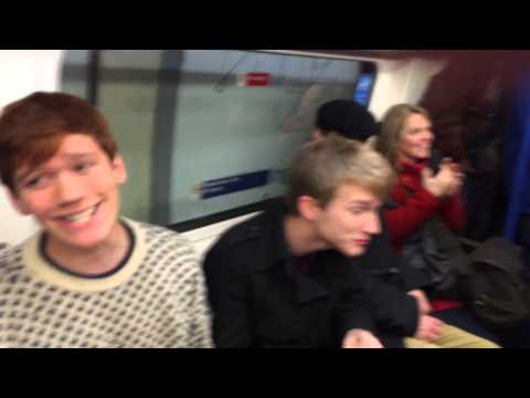Let It Snow Flashmob (London Underground) - Out of the Blue