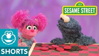 Sesame Street: Cookie Monster Plays (Eats) Checkers