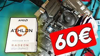 Jugando a TODO por MENOS de 60€??? | AMD Athlon 200GE OVERCLOCK 4GHz