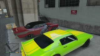 GTA V  Hidden Custom Rides Location