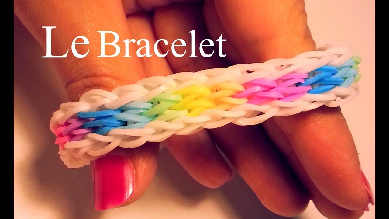 Comment faire un bracelet avec des lastiques sans machine youtube - Comment faire les bracelet elastique ...