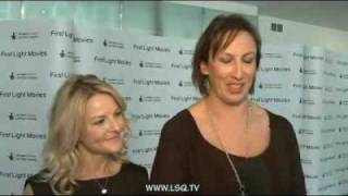 Miranda Hart and Sarah Hadland Interview - First Light Movie Awards 2011 - part 1