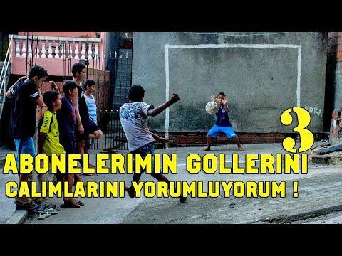SIZLERIN FUTBOLUNU YORUMLUYORUM  - 3 - ABONELERİMİN GOLLERİNİ  - ÇALIMLARINI YORUMLADIM !