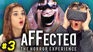 OCULUS HORROR - AFFECTED #3: THE CARNIVAL (React: Gaming)