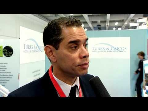 Caesar Campbell, CEO, Turks & Caicos Hotel and Tourism Association @ ITB 2010