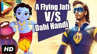 A Flying Jatt | Dahi Handi special 2016 | Tiger Shroff | Jacqueline Fernandez |  Nathan Jones