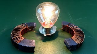Free Energy Using Magnet With Copper Wire 100%