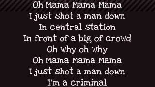 Rihanna Man Down Paroles Lyrics