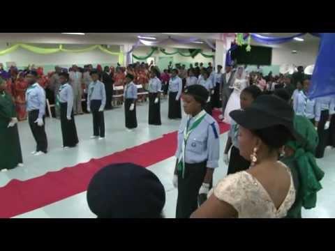 Mariage Congolais kimbanguiste Kaly & Nadine 3.11.12
