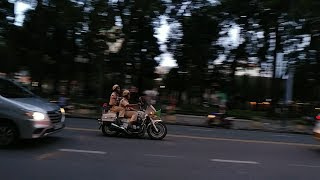 Tổng hợp dẫn đoàn APEC - CSGT  lịch sự xin đường- Police open road politely