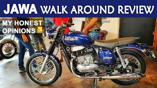 JAWA & 42 Walk Around Review || My Honest Opinions After Seeing it in Real || Ajith The Travel Buddy