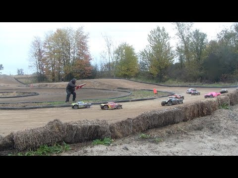 Losi 5ive-T - Rc Acres 4wd Moto 1 & Moto 2 Oct. 13, 2013