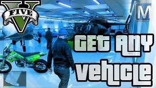 GTA Online - How to get ANY Vehicle in your Garage + Insure it (JETS, CHOPPERS, TANKS)
