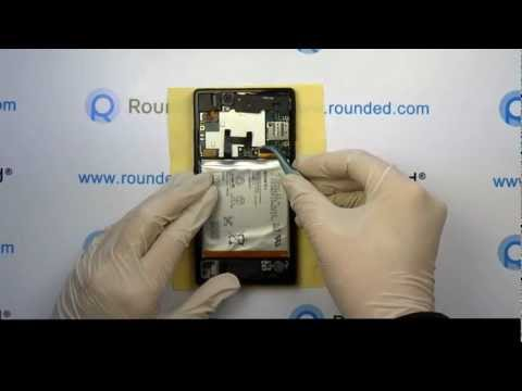 Sony Xperia Z repair. disassembly manual